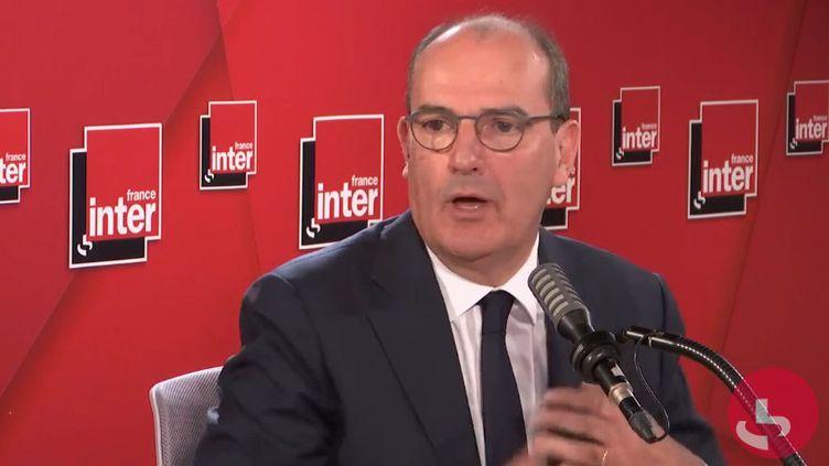 Jean Castex, sur France Inter, mercredi 26 aout 2020. (France Inter)