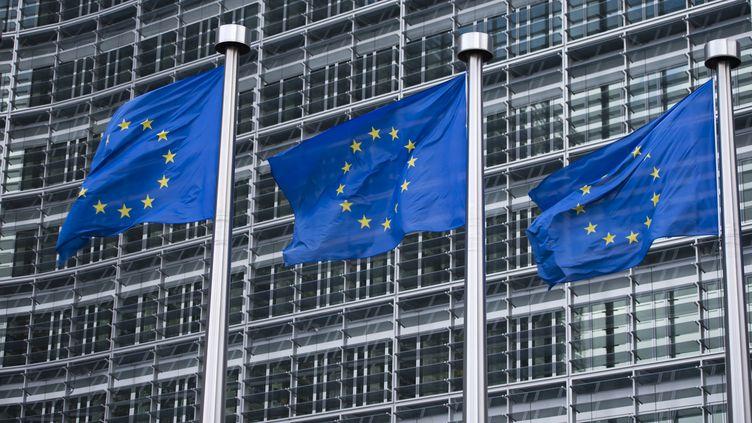 Le siège de la Commision européenne, à Bruxelles (Belgique). (MICHAEL GOTTSCHALK / PHOTOTHEK / GETTY IMAGES)