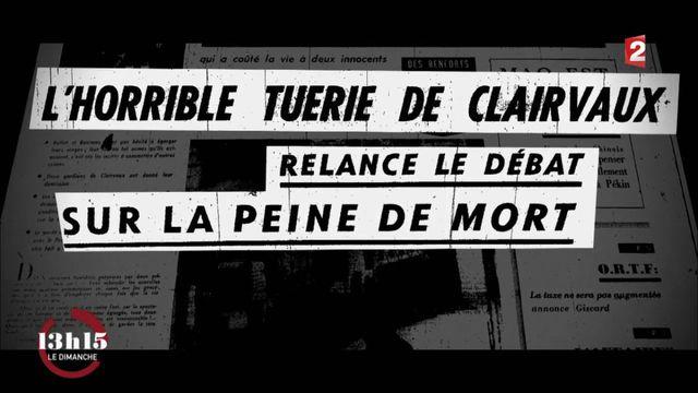 """VIDEO. """"13h15"""". Quand l'affaire Buffet-Bontems relance le débat sur la peine de mort en France"""