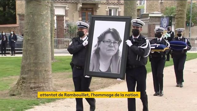Rambouillet : un dernier hommage a été rendu à la policière Stéphanie Monfermé