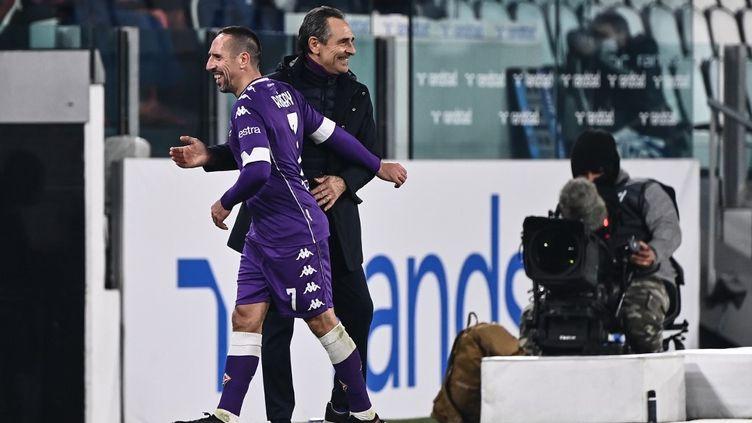 Ribéry lors du match Juventus - Fiorentina. (MARCO BERTORELLO / AFP)