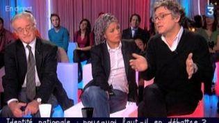 Michel Onfray face à Eric Besson dans Ce soir ou jamais  (Culturebox)