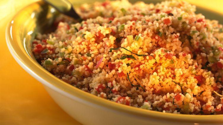 Le taboulé est le plat oriental idéal pour se rafraîchir en été. (I. ROZENBAUM & F. CIROU / MAXPPP)