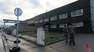 Le localde Champigny-sur-Marne dans lequel s'est déroulé la soirée en marge de laquelle deux policiers ont été agressés, la nuit du 31 décembre 2017. (MAXPPP)