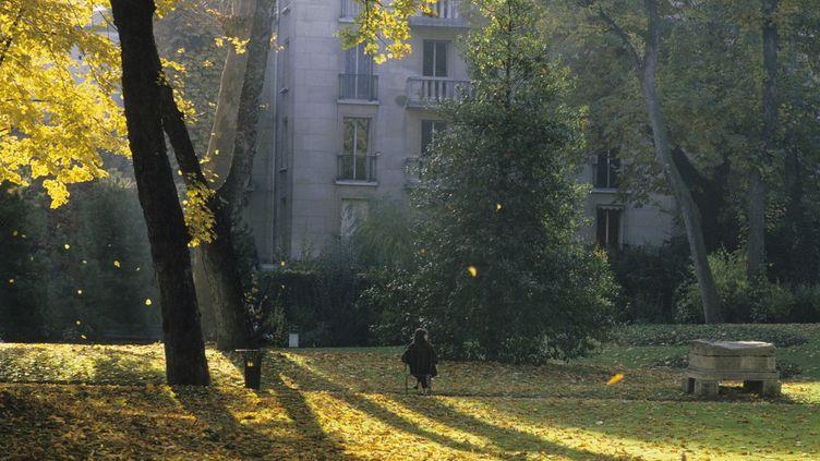Le parc Monceau à Paris, le 29 mars 2021. (ROSINE MAZIN / MAZIN ROSINE / AFP)