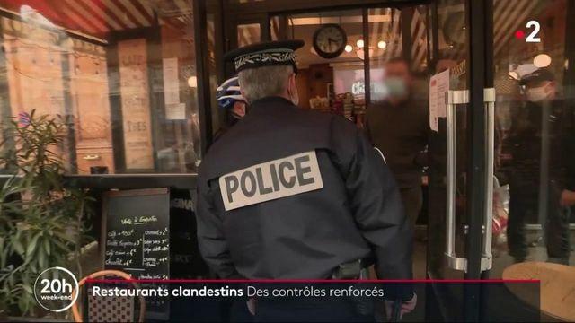 Covid-19 : des contrôles renforcés dans les restaurants clandestins
