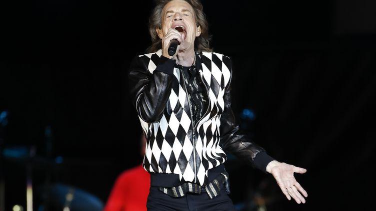 Mick Jagger à Chicago le 21 juin 2019 pour le No Filter Tour. (KAMIL KRZACZYNSKI / AFP)