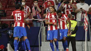 L'Atlético de Madrid s'est imposé face au FC Barcelone samedi 2 octobre. (BURAK AKBULUT / ANADOLU AGENCY)
