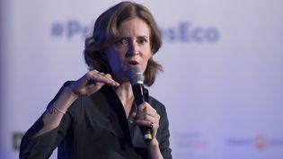 La candidate aux primaires de la droite, Nathalie Kosciusko-Morizet, le 27 septembre 2016 à Paris. (MARTIN BUREAU / AFP)