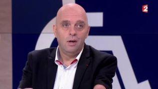 Philippe Croizon, invité du 13h (FRANCE 2)
