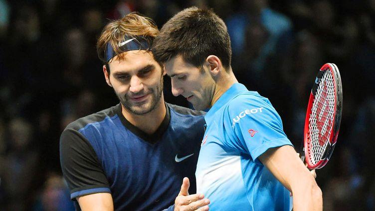 (Roger Federer et Novak Djokovic ont chacun remporté 22 de leurs duels © MaxPPP)