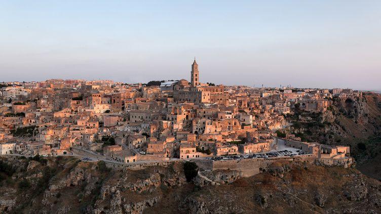 Vue générale de Matera, en Basilicate, le 30 juin 2019 (MANUEL COHEN / MANUEL COHEN)