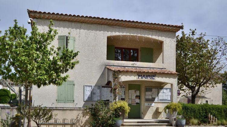 La mairie de La Barben, dans les Bouches-du-Rhône. (ERIC AUDRA / RADIO FRANCE)