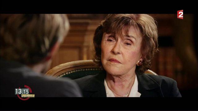 """VIDEO. """"13h15"""". Edith Cresson confirme le dîner secret Chirac-Mitterrand qui s'est tenu chez elle en 1980"""