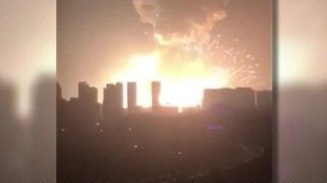 Chine : la ville de Tianjin secoué par une énorme explosion