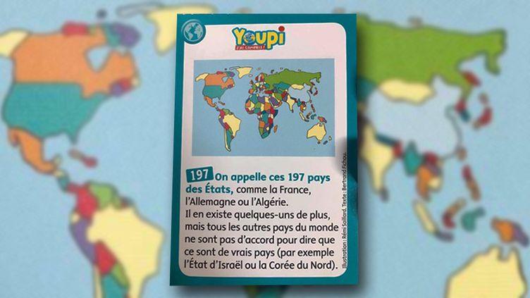 La fiche du magazine jeunesse Youpi mise e cause par le CRIF