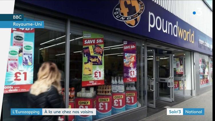 Un magasin Poundworld (France 3)