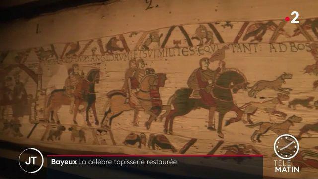 La célèbre tapisserie de Bayeux va se refaire une beauté