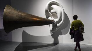 L'une des oeuvre présentée dans le cadre de l'expositionLudwig van - le mythe Beethoven, à la Philarmonie de Paris, du 14 octobre au 29 janvier 2016. (IAN LANGSDON / EPA)