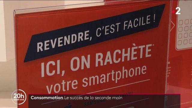 Consommation : les Français n'hésitent pas à se ruer sur les produits d'occasion