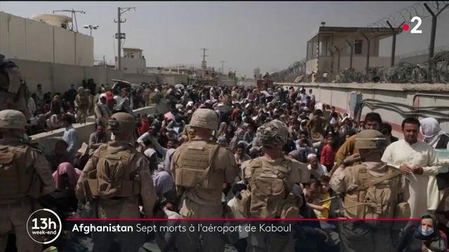 Afghanistan : sept morts dansune bousculadeà l'aéroport de Kaboul