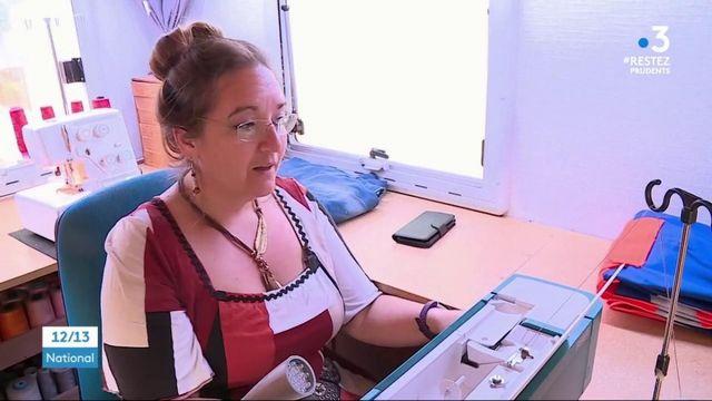 Vosges : avec la fabrication de masques, une couturière itinérante a trouvé le bon filon