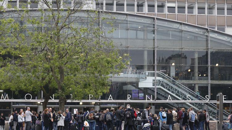La gare de Paris-Montparnasse, le 29 mai 2016. (MATTHIEU ALEXANDRE / AFP)