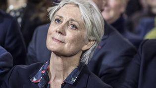 Penelope Fillon assiste à un meeting de son mari, François Fillon, le 29 janvier 2017 à Paris. (HAMILTON / REA)