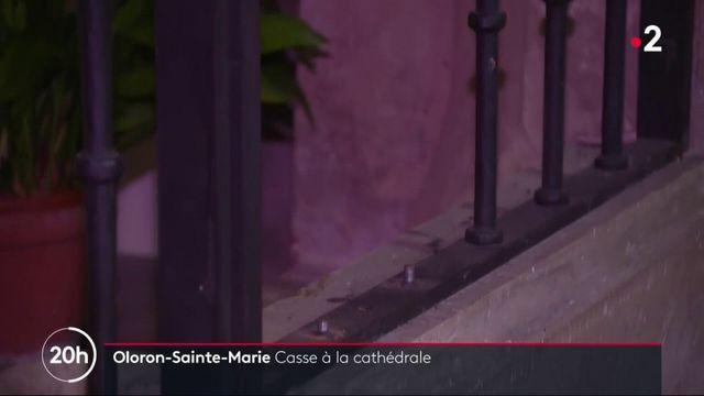 Oloron-Sainte-Marie : près de trente objets dérobés à la cathédrale