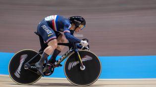 Sébastien Vigier lors des championnats du monde 2020, le 29 février à Berlin. (SEBASTIAN GOLLNOW / DPA / AFP)