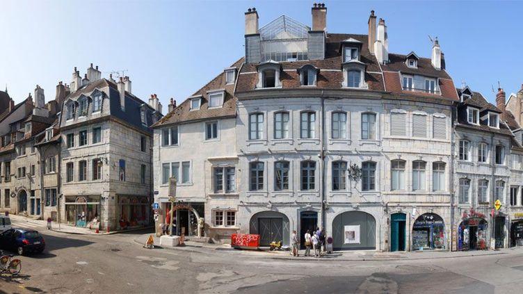 Place Victor Hugo, à Besançon, la maison natale de Victor Hugo  (Ville de Besançon)