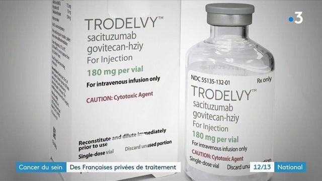 Maladie : des Françaises atteintes d'un cancer du sein triple négatif privées de traitement