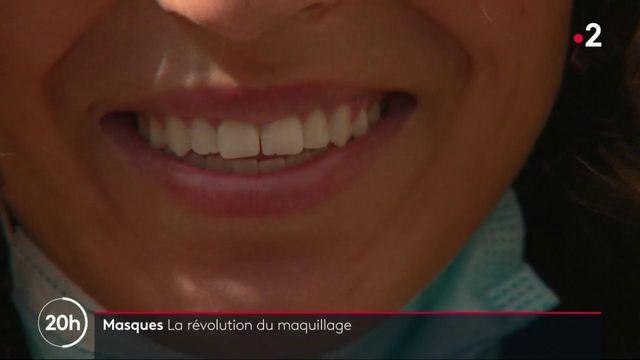 Port du masque : de plus en plus de femmes délaissent le rouge à lèvres