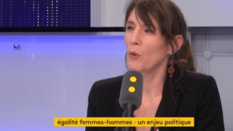 Christine Revault d'Allonnes-Bonnefoy, députée européenne PS, au micro de franceinfo (FRANCEINFO)