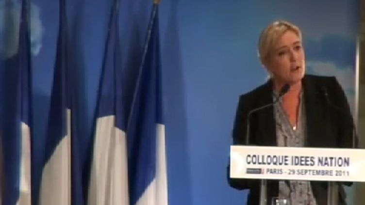 Marine Le Pen (FranceTV)