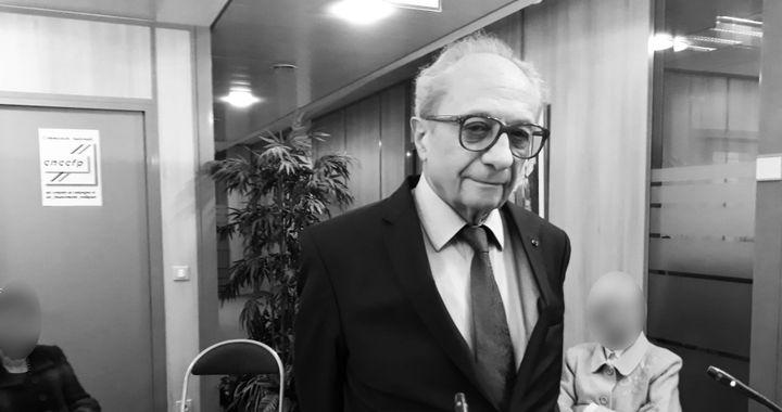 François Logerot, président de la commission nationale des comptes de campagne et des financements politiques. (ÉLODIE GUÉGUEN / RADIO FRANCE)