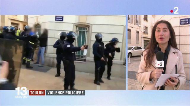 """Toulon : violences policières en marge d'un rassemblement de """"gilets jaunes"""""""