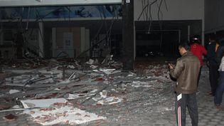 Un séisme de magnitude 7 a eu lieu en Indonésie dimanche 5 août 2018 (RIAU IMAGES / MAXPPP)