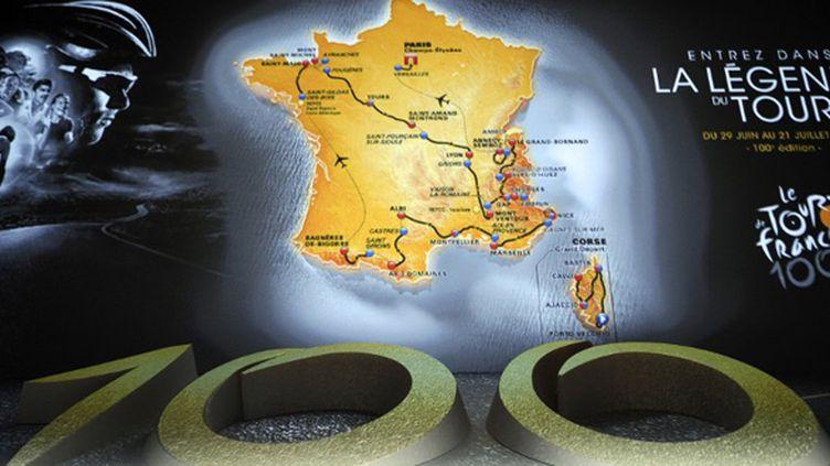 Le Tour de France, centième du nom (LIONEL BONAVENTURE / AFP)
