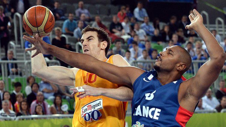 Boris Diaw a tout donné contre l'Espagne (GEORGI LICOVSKI / MAXPPP)