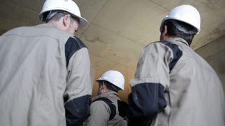Chantier de construction de logement (image d'illustration). (VINCENT ISORE / MAXPPP)