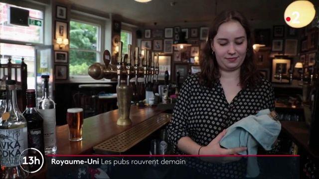 Royaume-Uni : les pubs rouvrent demain