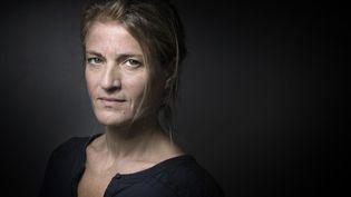 "Nahalie Azoulai, Prix Medicis 2015 avec ""Titus n'aimait pas Bérénice"" (POL)  (JOEL SAGET / AFP)"