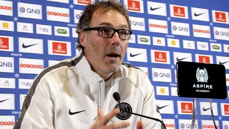 (Laurent Blanc sacré meilleur entraîneur de ligue 1 © MaxPPP)