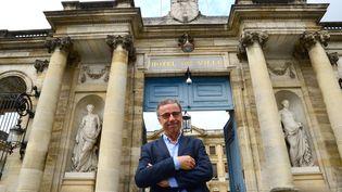 Pierre Hurmic, le nouveau maire de Bordeaux, le 1 juillet 2020. (MEHDI FEDOUACH / AFP)