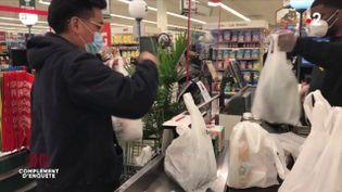 Coronavirus : le retour du sac plastique à usage unique ? (COMPLÉMENT D'ENQUÊTE/FRANCE 2)
