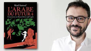 """Riad Sattouf publie """"L'Arabe du futur 4 - Une jeunesse au Moyen-Orient (1987-1992)  (Renaud Montfourny)"""