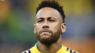 Neymar, le 5 juin 2019, lors d'un match amical à Brasilia. (EVARISTO SA / AFP)