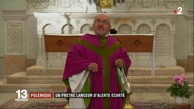 Pédophilie dans l'Église : le prêtre lanceur d'alerte Pierre Vignon écarté