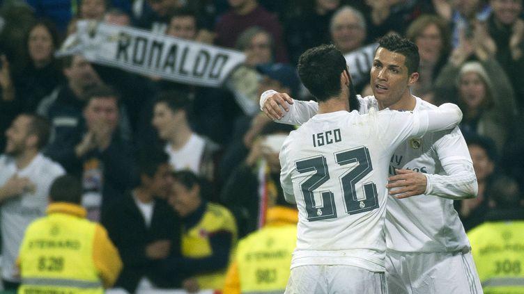 La joie de Cristiano Ronaldo ! (CURTO DE LA TORRE / AFP)